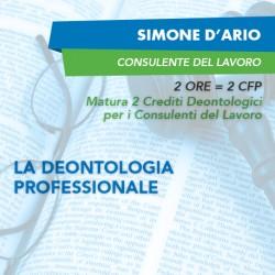 Corsi e-learning - La deontologia professionale