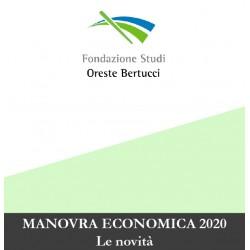 Corsi in aula - MANOVRA ECONOMICA 2020 Le novità
