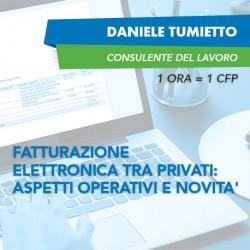 Corsi e-learning - Fatturazione elettronica tra privati: aspetti operativi e novità